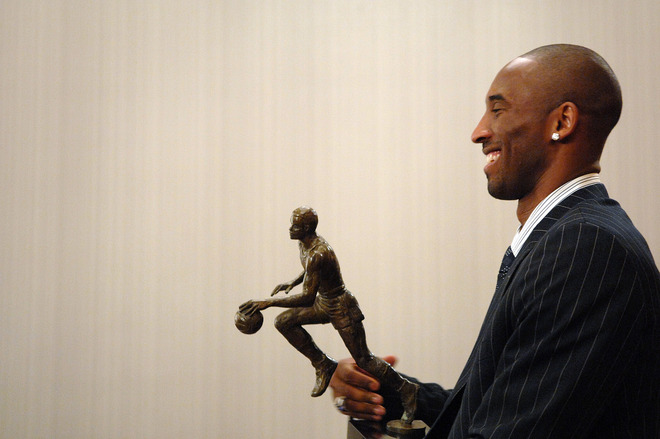 Kobe Bryant Los Angeles Lakers 2008 MVP